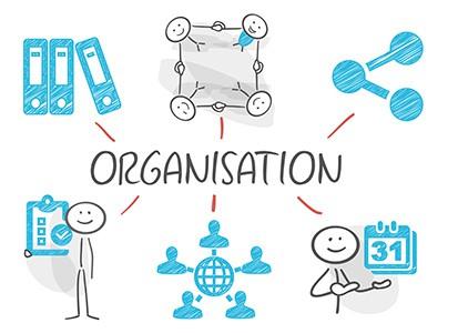 Illustration Organisation Seminar-Organisation Fuchs