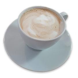 Tasse Milchkaffee